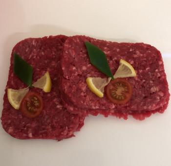 Steaks hachés frais 10% mg VBF x2